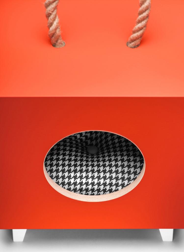 poducha Catbox dla kota meble