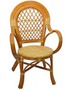 ogrodowe krzesło z drewna