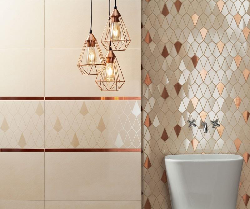 Mozaika ceramiczna we wnętrzach