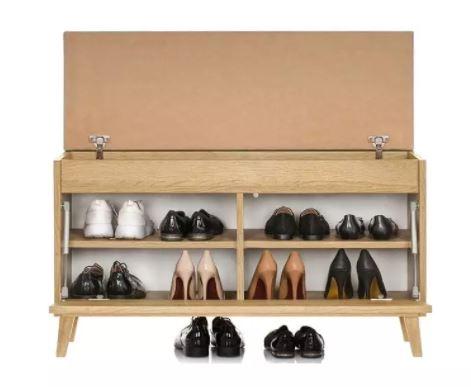 Idealna szafka na buty na taras